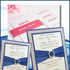 הזמנה לחתונה בגודל 13X18 צד אחד